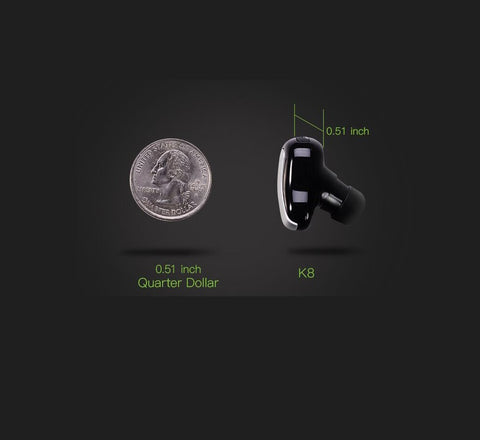 Image of Mono Cordless Invisible Wireless Bluetooth Earbuds