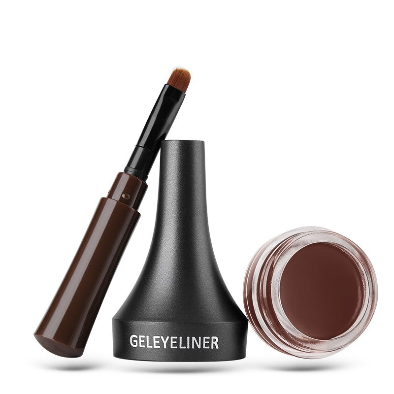 Eyebrow Gel Pencil Tint Brown 3D Natural Eyebrow Pen with Brush