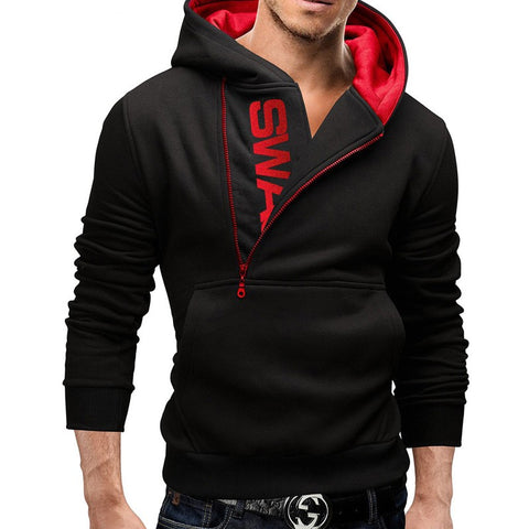 Image of Assassins Creed Letter Printed Men's Hoodie Long Sleeve