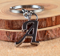 DIY A-Z Letters key Chain Letter Name Key Holder Party Gift