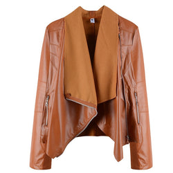 Women Winter Faux Leather Jackets