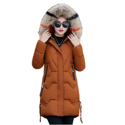 Women Winter Hoodies Parkas