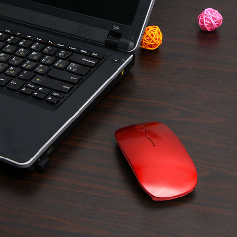 Image of 1600 DPI USB Optical Wireless Computer Mouse 2.4G Receiver Super Slim Mouse For PC Laptop