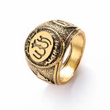 Classics Retro Allah Arabic Shahada God Messenger Ring