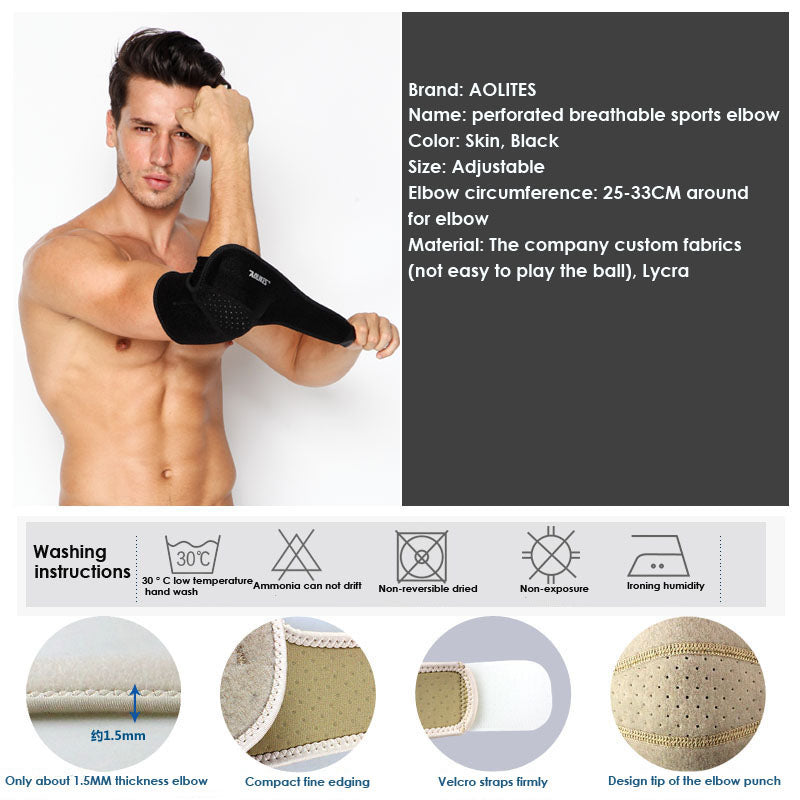 Sports Safety Elastic Elbow Brace