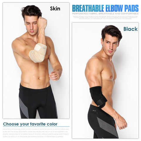 Image of Sports Safety Elastic Elbow Brace
