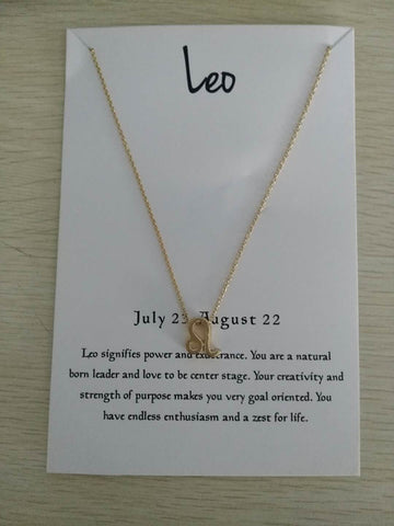 12 Constellation Leo Necklaces For Women