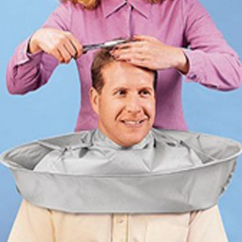 Easy Fold adult Barber Cape