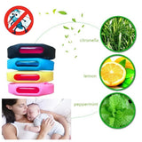 Bracelet+Anti Mosquito Capsule Pest Insect Bugs Control Repellent Repeller Wristband For Kids