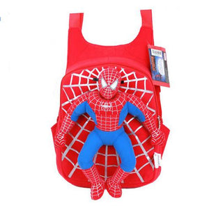 3D Spiderman School Bag Boys Backpack