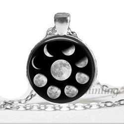 Moon Nebula Pagan Necklace