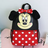 Cartoon Mickey Boy Canvas Backpacks