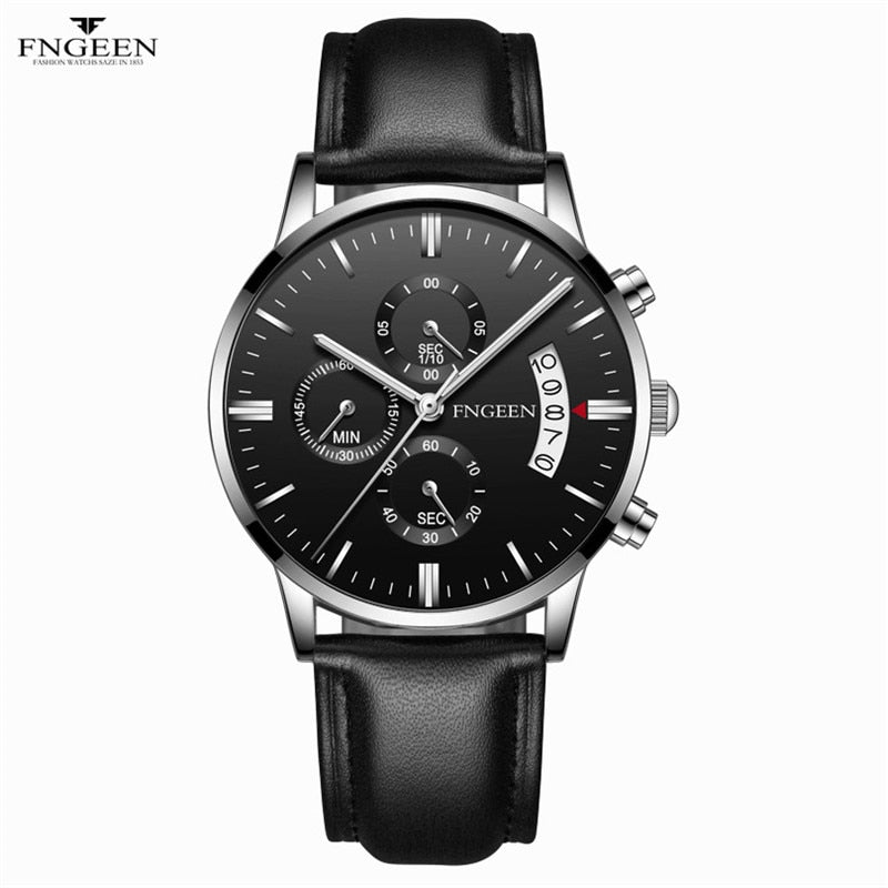 Automatic Date Quartz Wristwatches