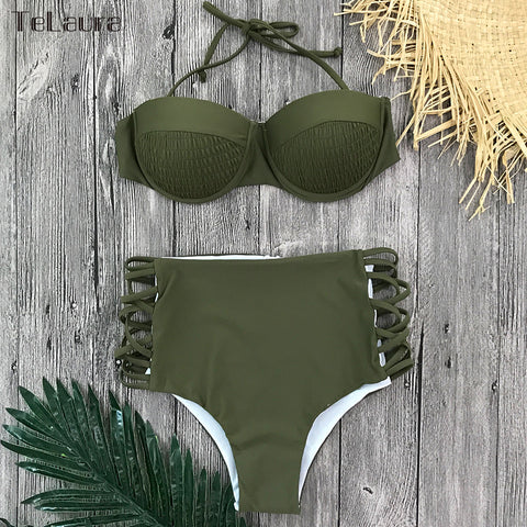 Image of High Waist Women Swimwear