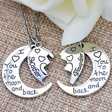 Image of I Love You To The Moon And Back Necklace