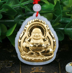 Buddha Good Luck Pendant Necklace