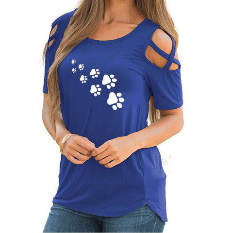 Footprint Summer Bts Silicone Plus Size Tops