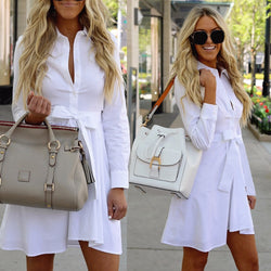 Women Shirt Dress