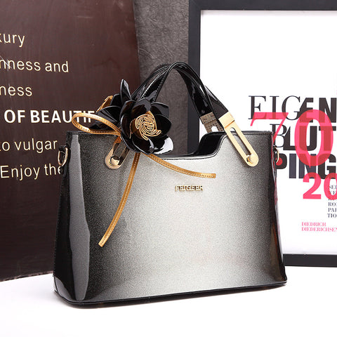 Image of Famous Brand Evening Party Clutch Messenger Tote
