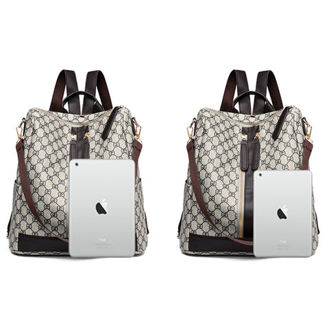 Image of Fashion Zipper Ladies Backpack