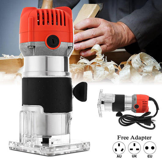 Electric Hand Router Trimmer Wood