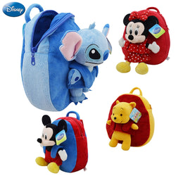 Disney Backpack Mickey Mouse Minnie Winnie The Pooh Lilo