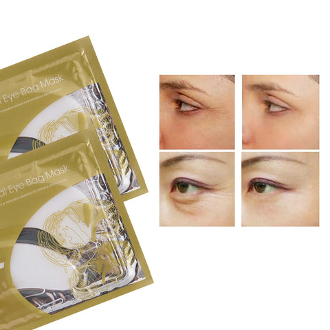 Image of 30pcs = 15pair Collagen Crystal Eye Mask Moisture Anti-Ageing Eyelid Patch Care Mask For Face Care Eye Patches
