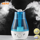 3L Aroma Ultrasonic Humidifier Essential Oil Diffuse 25W 110-240V LED Light Humidifier