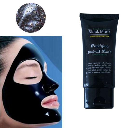 50ml Blackhead Remover Deep Cleansing Purifying Peel Off Acne Black Mud Face Mask Facial Care