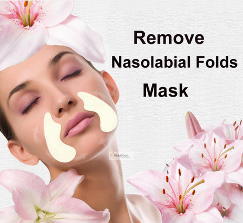 Image of 5pack Nasolabial Folds Anti-aging Anti-wrinkle Face Mask Facial Lifting Sticker whey protein acne beauty skin Care