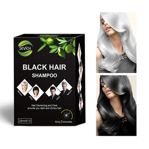 Instant Black Hair Shampoo