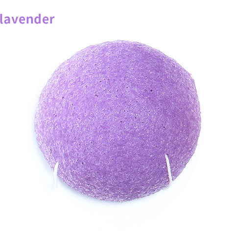 Image of Natural Sponge Facial Puff Face Wash Cleansing & Exfoliating Beauty Sponges