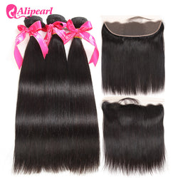 Brazilian Hair Weave Bundles 3PCS Remy Hair Extension