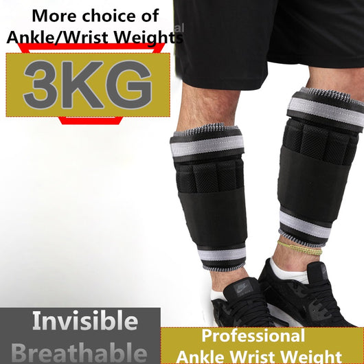 Ankle Wrist Weights (3 KG / Pair ) for Women, Men and Kids
