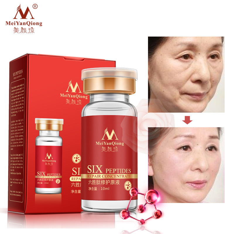 Argireline.aloe vera.collagen peptides rejuvenation anti wrinkle Serum for the face skin care