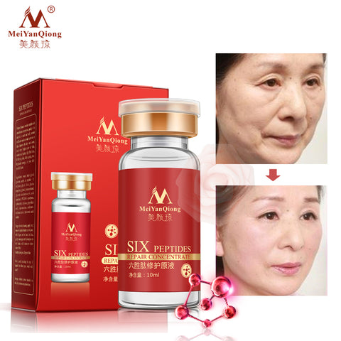 Image of Argireline.aloe vera.collagen peptides rejuvenation anti wrinkle Serum for the face skin care