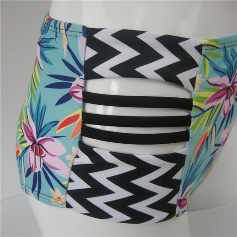 Image of Push Up High Waist Swimsuit