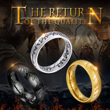 Premium Hobbit Gift Midi Stainless Steel One Ring