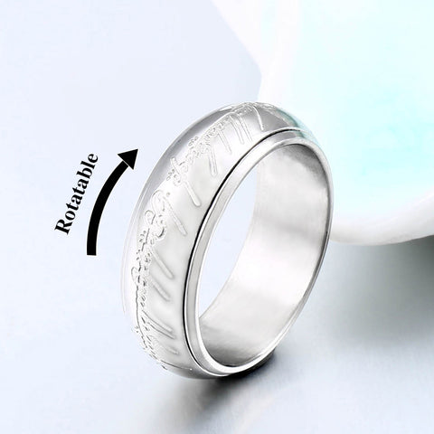 Image of Premium Hobbit Gift Midi Stainless Steel One Ring
