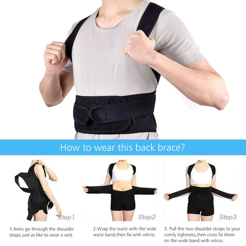 Back Posture Corrector Support Belt