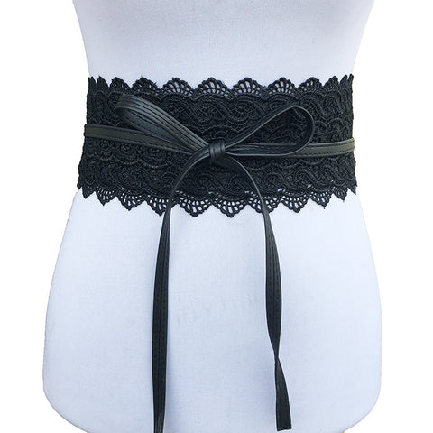 Self Tie Obi Cinch Waistband Belts for Women