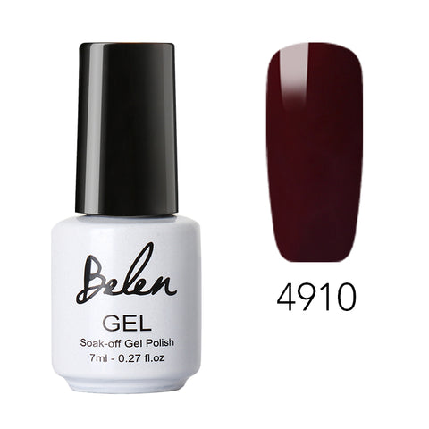Image of 7ml Light Color Macaroni Gel Nail Polish Long-lasting Hybrid Semi Permanent Lacquer