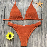 Female Brazilian Push Up Bikini Set