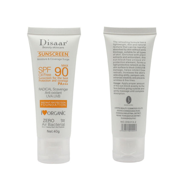 Body Care Facial Sunscreen Cream