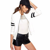 Long Sleeve Baseball Bomber Jacket