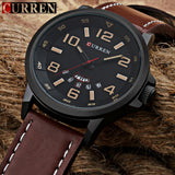 CURREN Top Brand Luxury Men Sports Watches