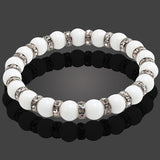 Natural Stone Buddhist Prayer Beads Bracelets