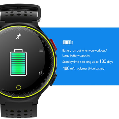 Image of Smartwatch Heart Rate Tracker IP68 Waterproof Ultra Long Standby