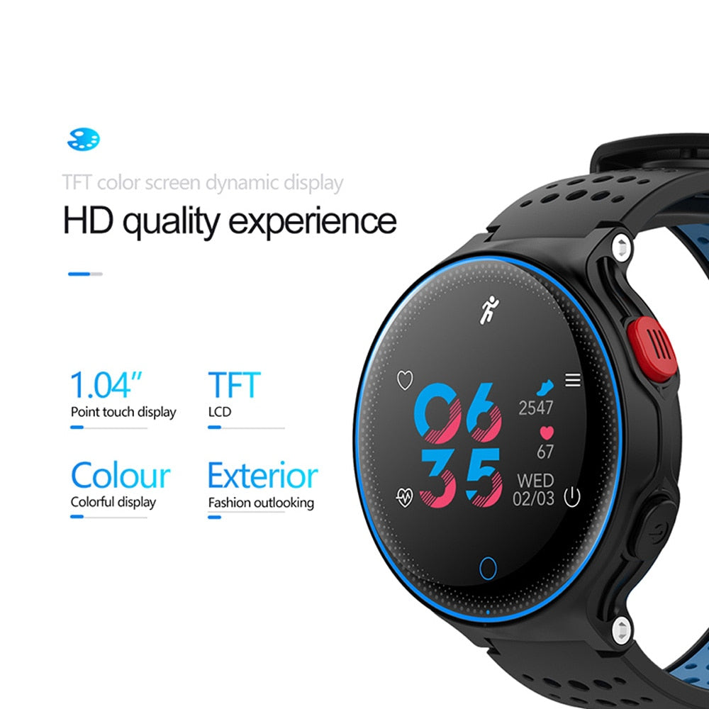 Smartwatch Heart Rate Tracker IP68 Waterproof Ultra Long Standby