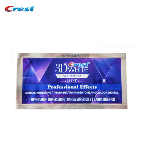 Image of Crest 3D White Whitestrips Professional Effects Original Oral Hygiene Teeth Whitening
